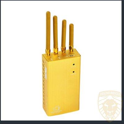 多功能手机WiFi GPS信号屏蔽器金色